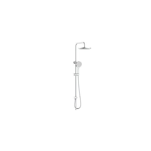Sprchový systém Swiss Aqua Technologies bez baterie bílá/chrom SATPIPET