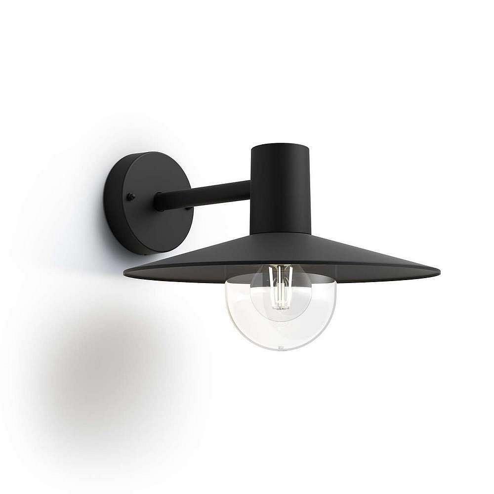 Svítidlo venkovní E27 IP44, Philips Skua černé