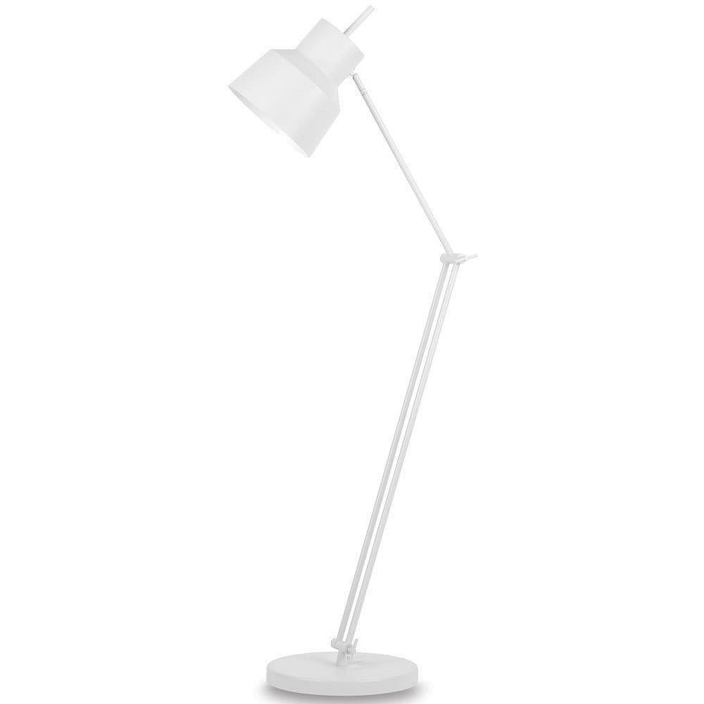 Bílá volně stojící lampa Citylights Belfast