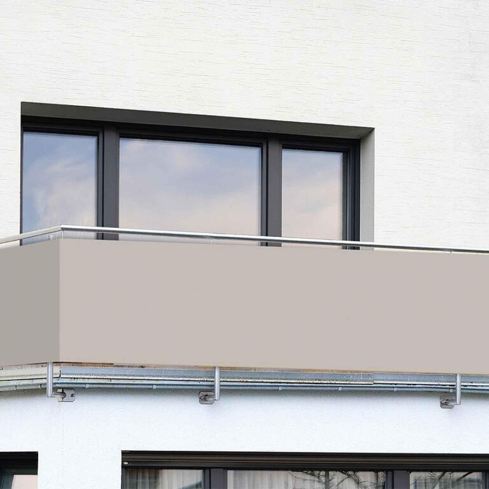 Balkonová zástěna BÉŽOVÁ