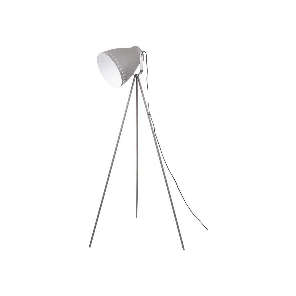 Šedá volně stojící lampa Leitmotiv Tristar