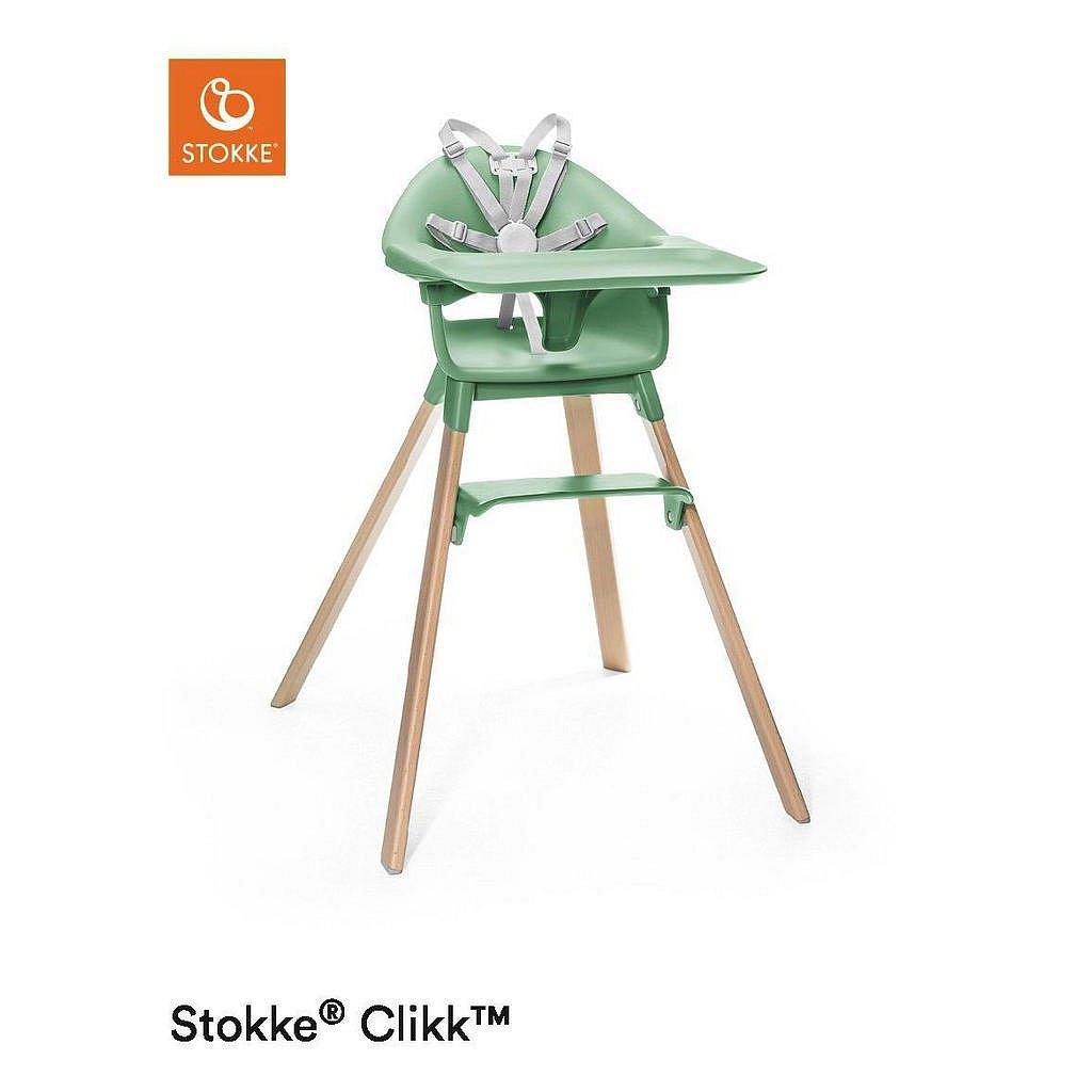 Stokke Vysoká Židlička, Buk, Barvy Buku, Mátově Zelená - 004792033602