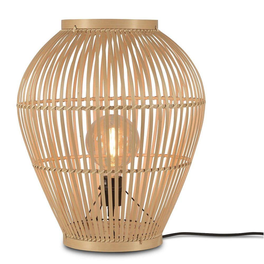 Stojací jutová lampa Good&Mojo Tuvalu, ⌀42cm