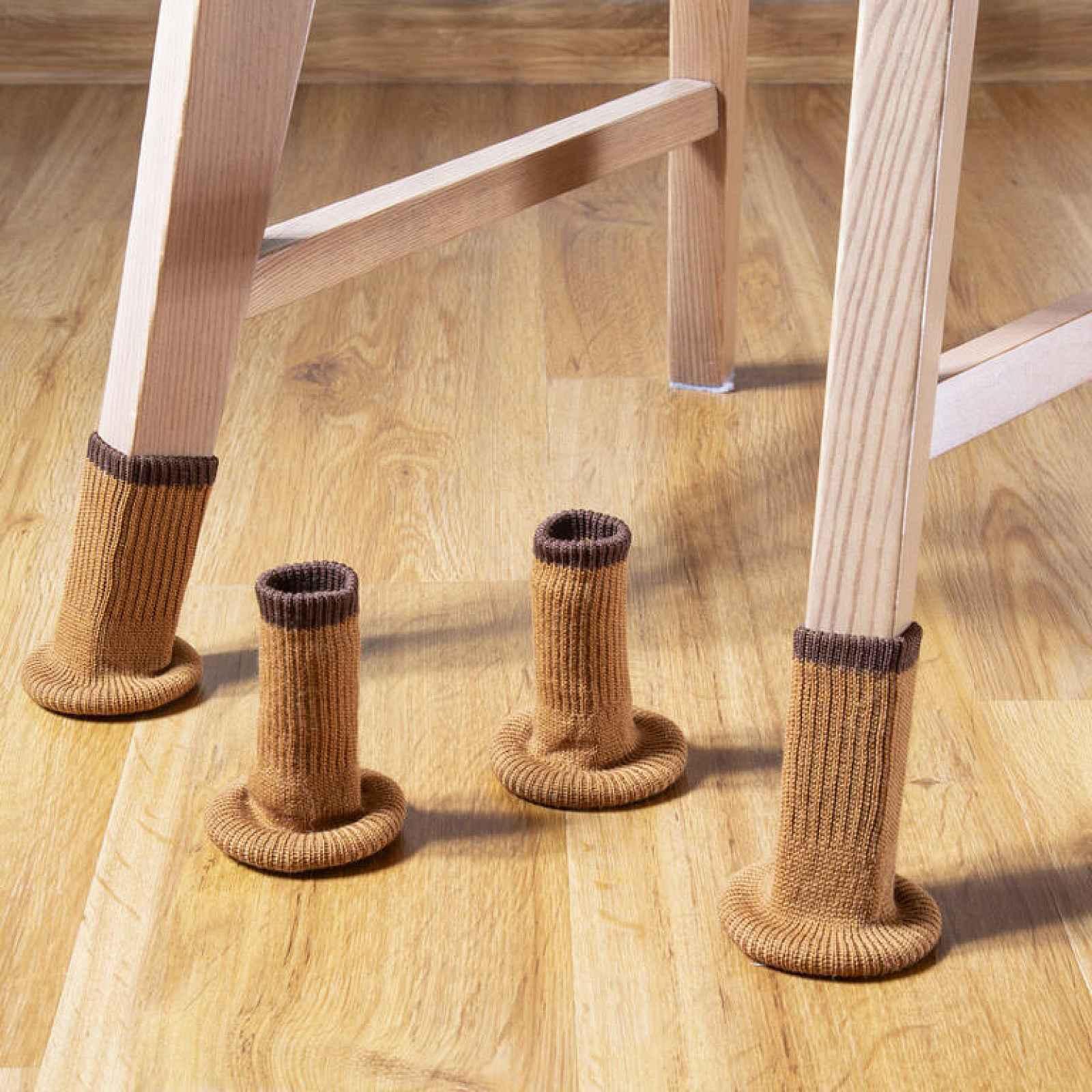 Ponožky na nohy nábytku, sada 4 ks