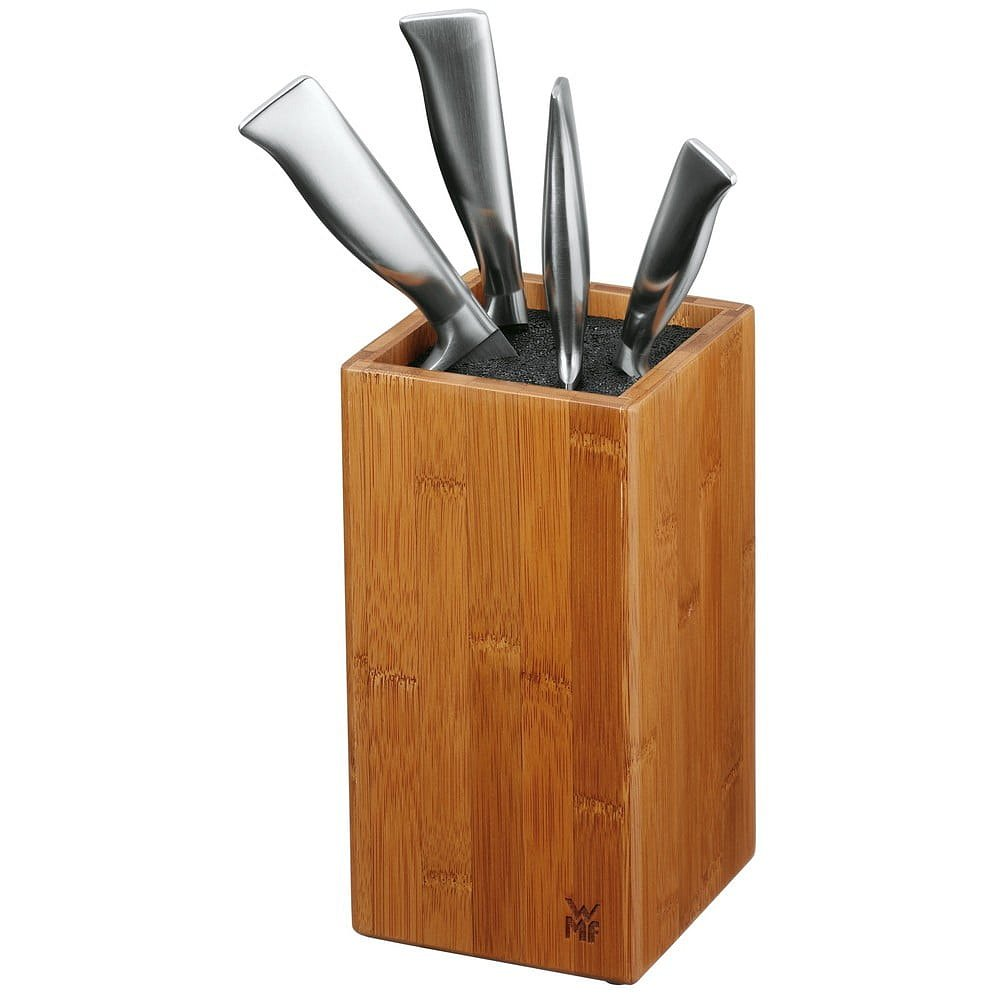 Bambusový blok na nože se štětinami WMF