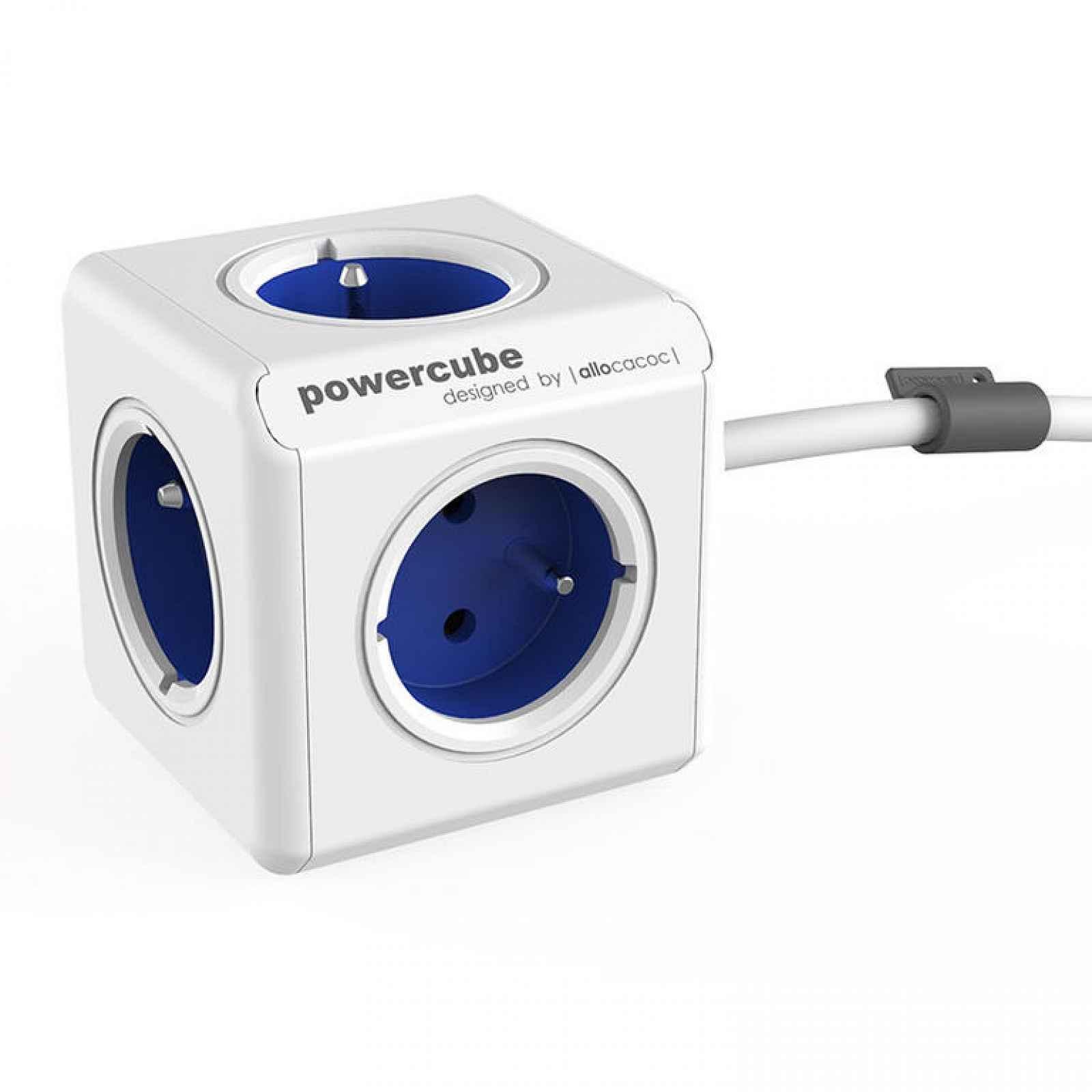 Rozbočovač PowerCube Extended modrý