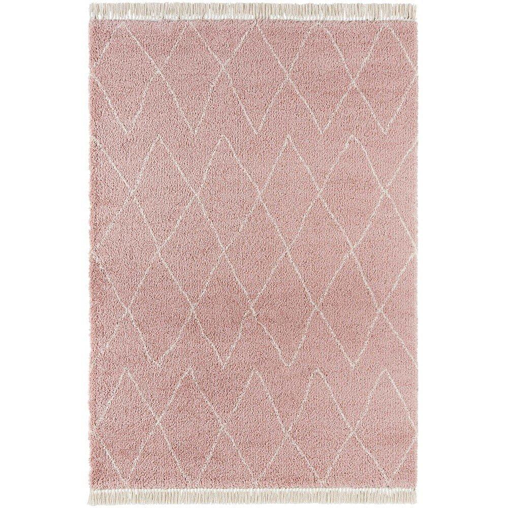 Růžový koberec Mint Rugs Jade, 160x230cm