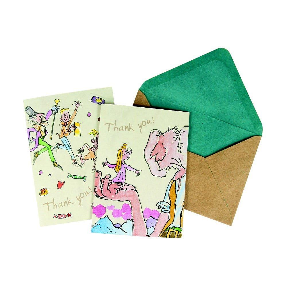 Sada 10 komplimentek s obálkou Roald Dahl by Portico Designs