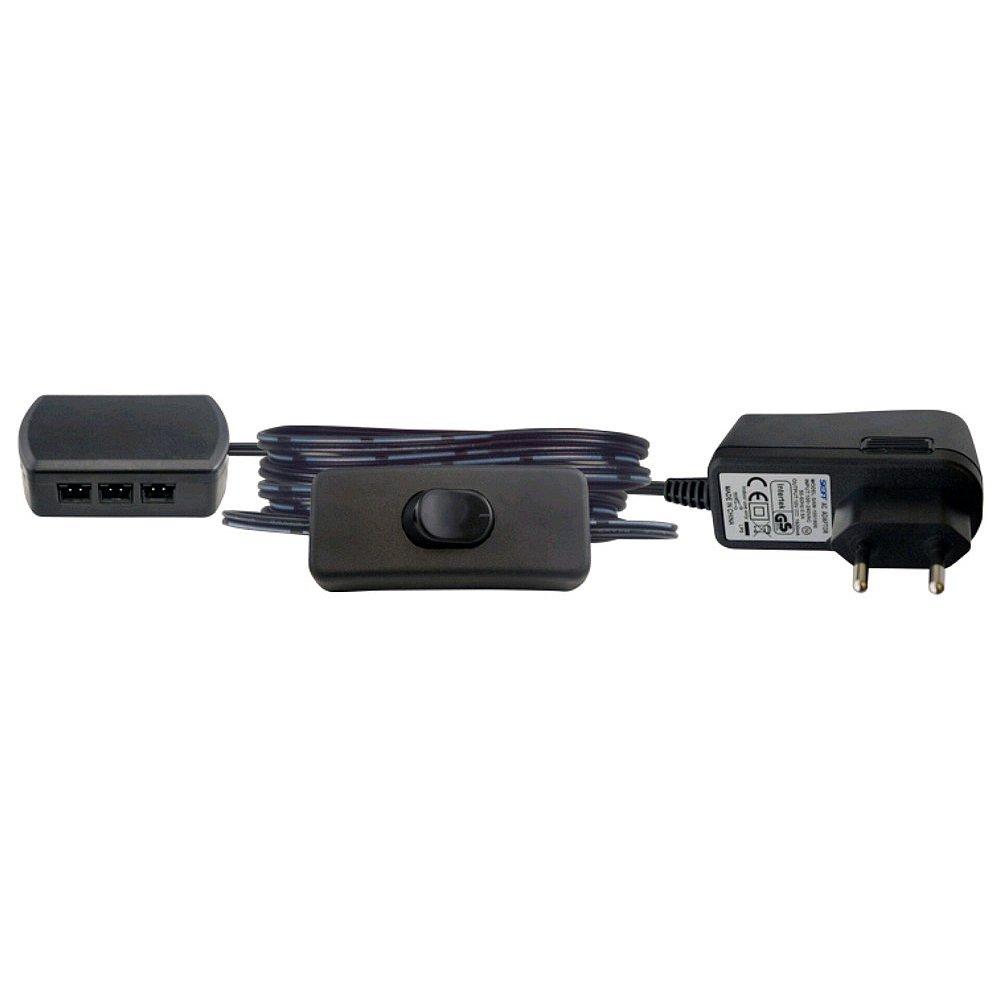 Trafo s příslušenstvím pro 7 ks LED světel Typ 7507