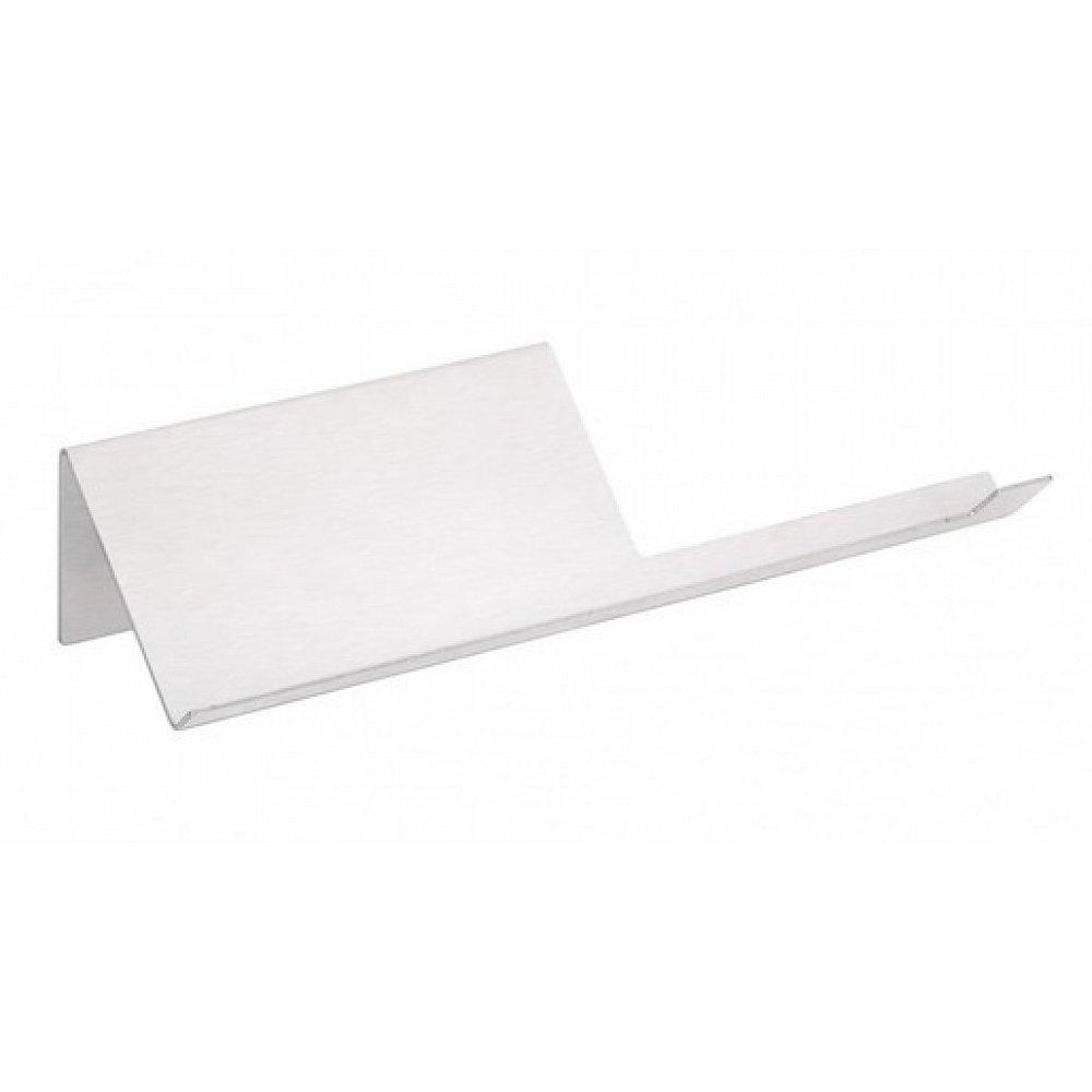 Držák toaletního papíru Bemeta Niva s držákemšířka 27 cm broušená nerez 101104015