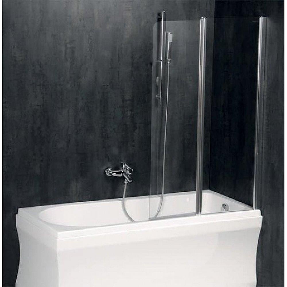 Polysan PALOMA vanová zástěna 1200mm, čiré sklo,BS-120