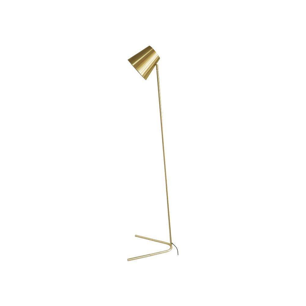 Volně stojící lampa ve zlaté barvě Leitmotiv Noble