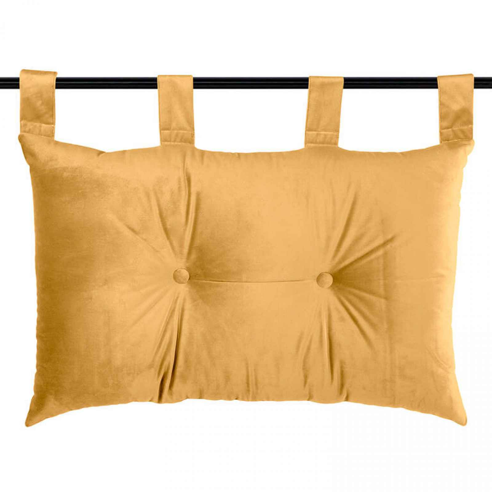 Závěsný polštář DANAÉ MOUTARDE 70 x 45 cm