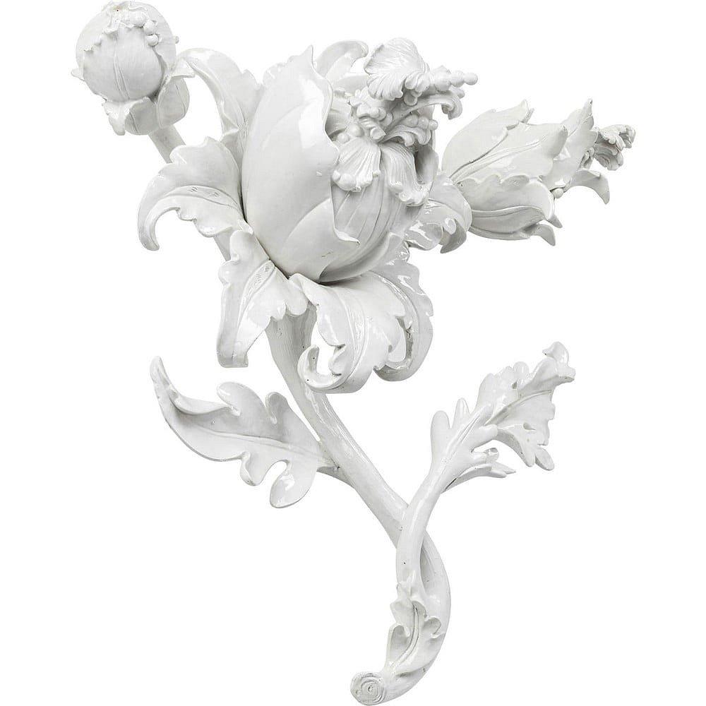 Bílá nástěnná dekorace Kare Design Parrot
