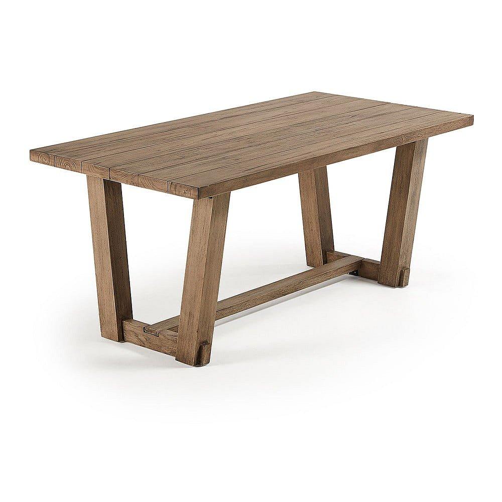Stůl z teakového dřeva La Forma Komet, 180 x 90 cm