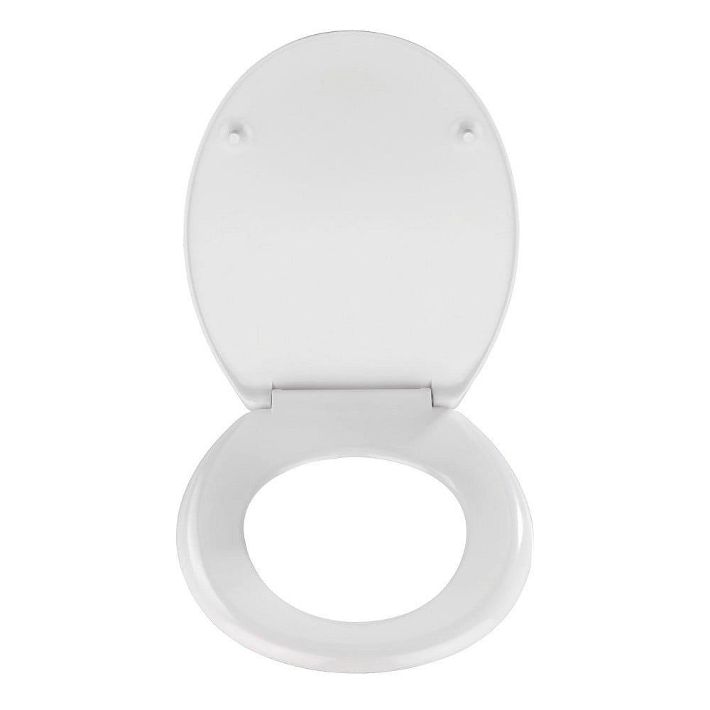 Bílé toaletní prkénko Wenko Vigone