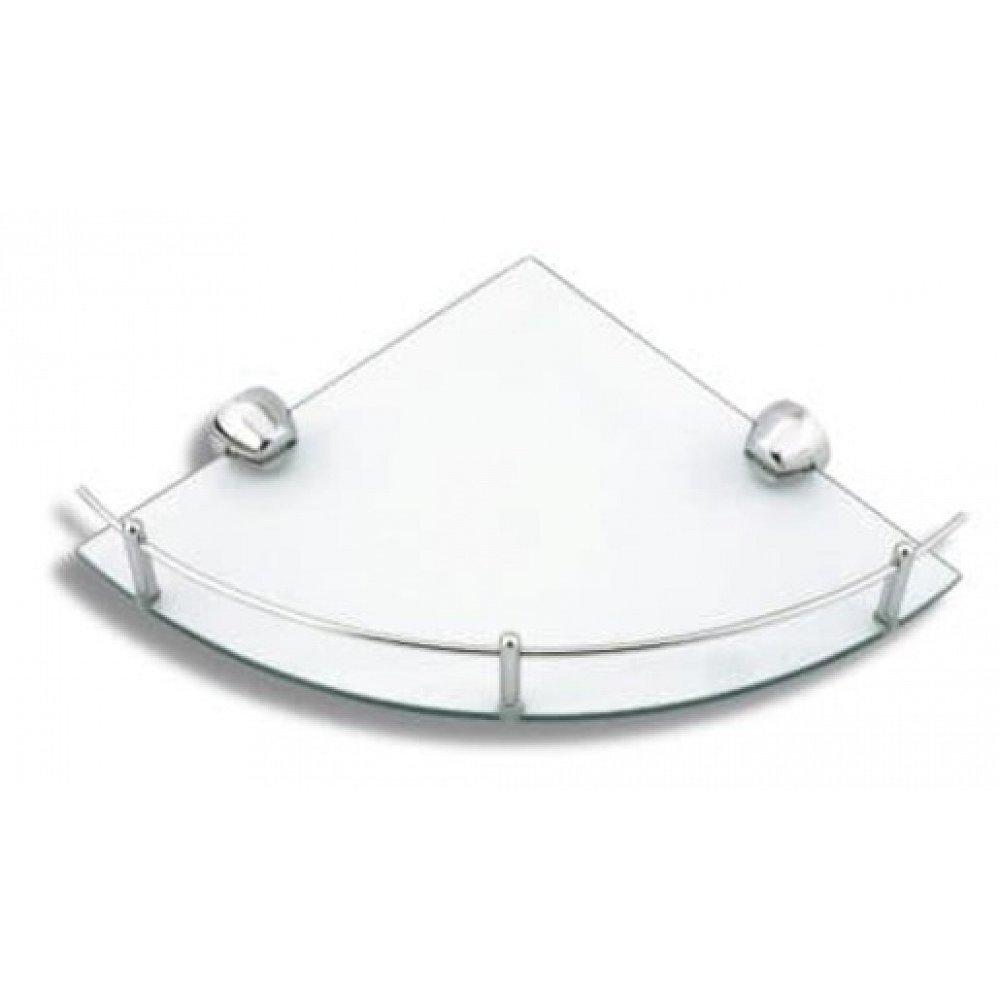 Rohová polička Novaservis Metalia 3 34,5 cm chrom 6358.0