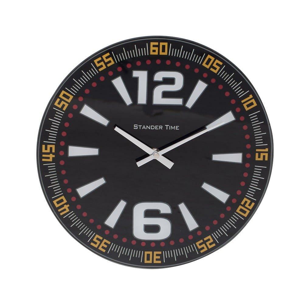 Nástěnné hodiny Mauro Ferretti Time B, ⌀ 30 cm