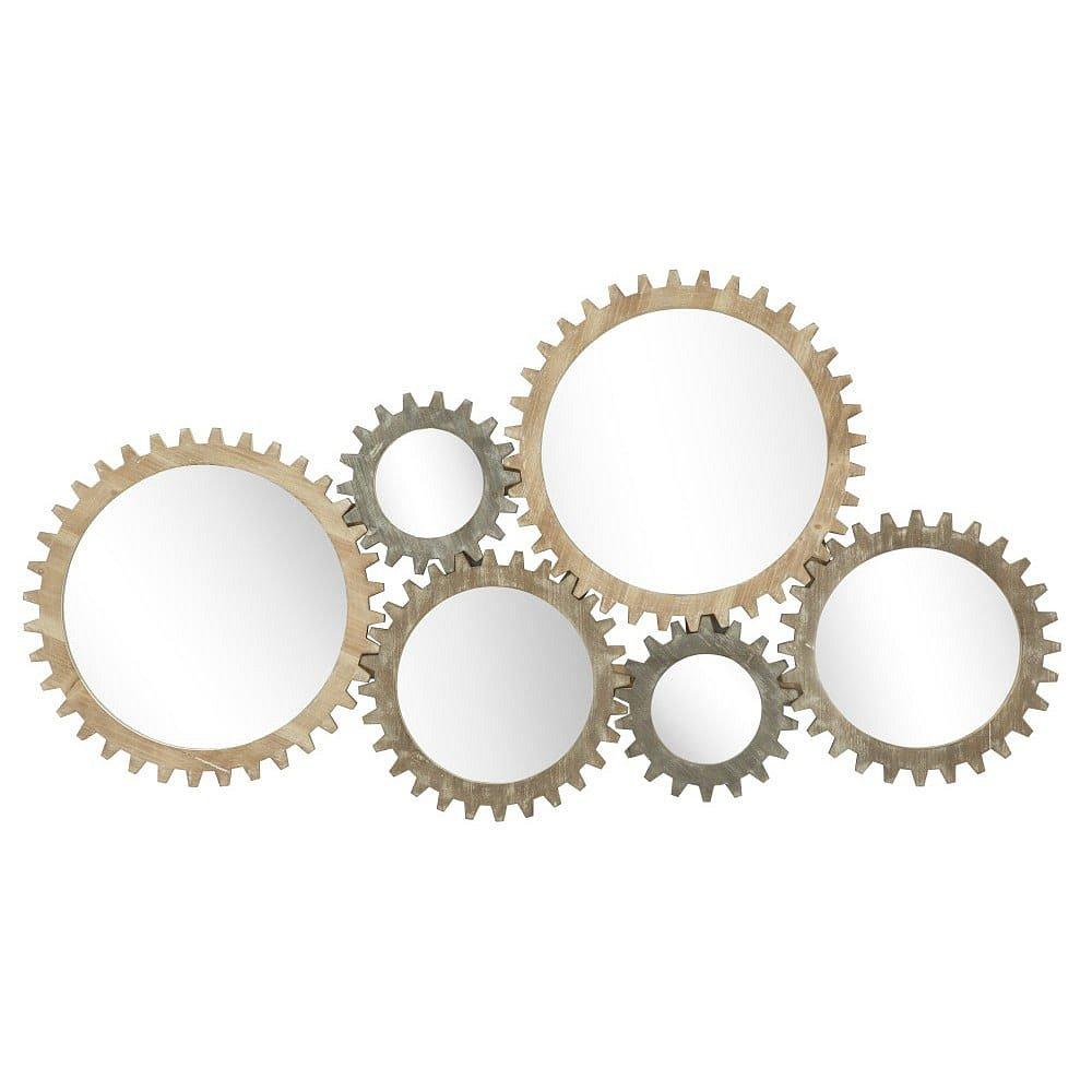 Nástěnné zrcadlo Mauro Ferretti Ingranaggio