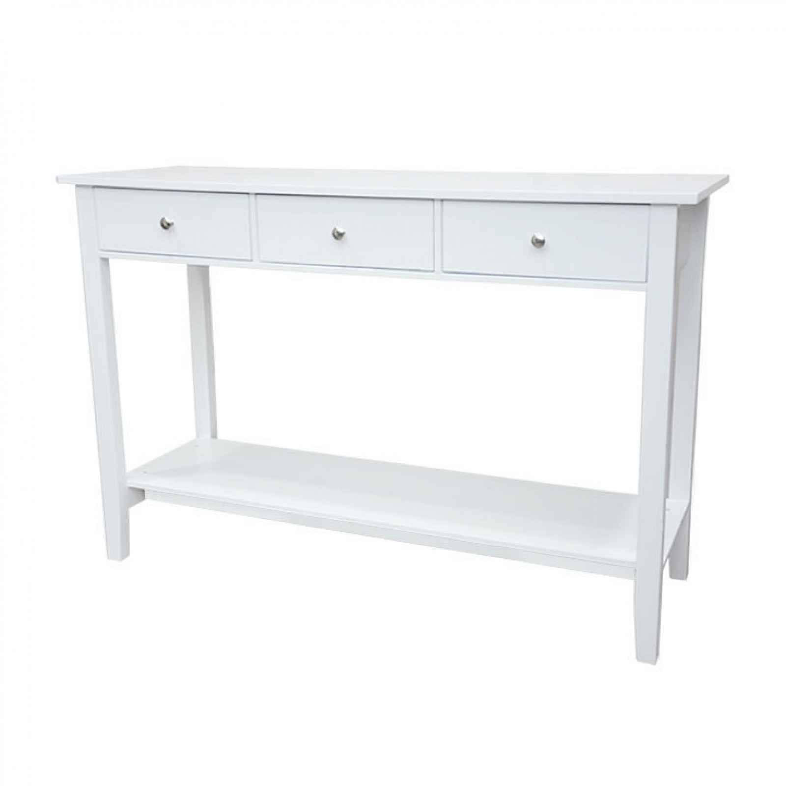 Konzolový stolek, bílá, REDON 0000228625 Tempo Kondela