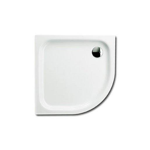 Sprchová vanička speciální Kaldewei Zirkon 502-2 75x90 cm smaltovaná ocel alpská bílá 455648040001