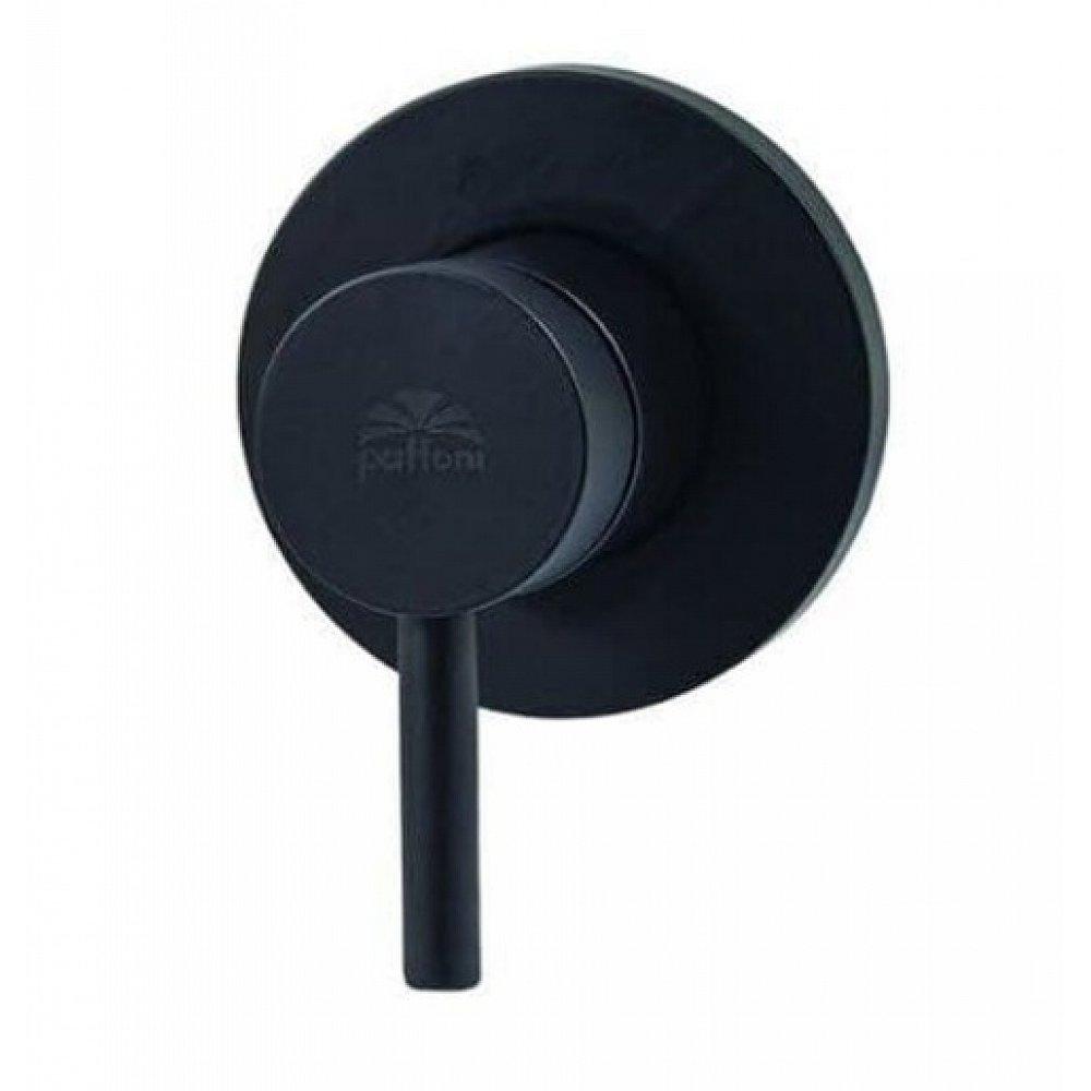 Sprchová baterie Paffoni Light včetně podomítkového tělesa černá LIG011NO