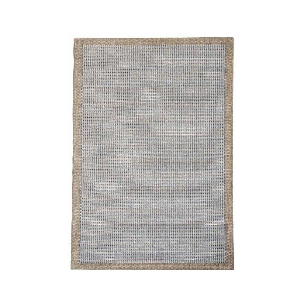 Modrý venkovní koberec Floorita Chrome, 160 x 230 cm
