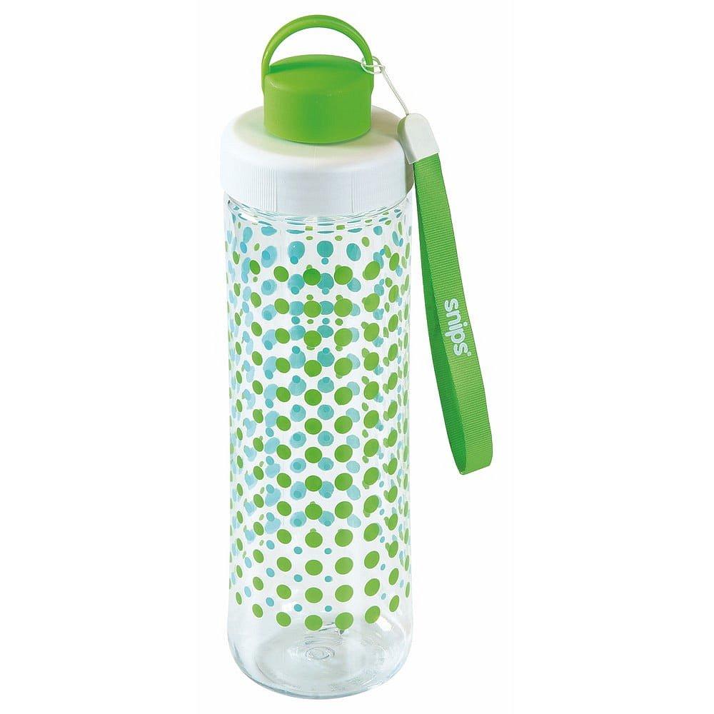 Zelená lahev na vodu Snips Decorated,750ml