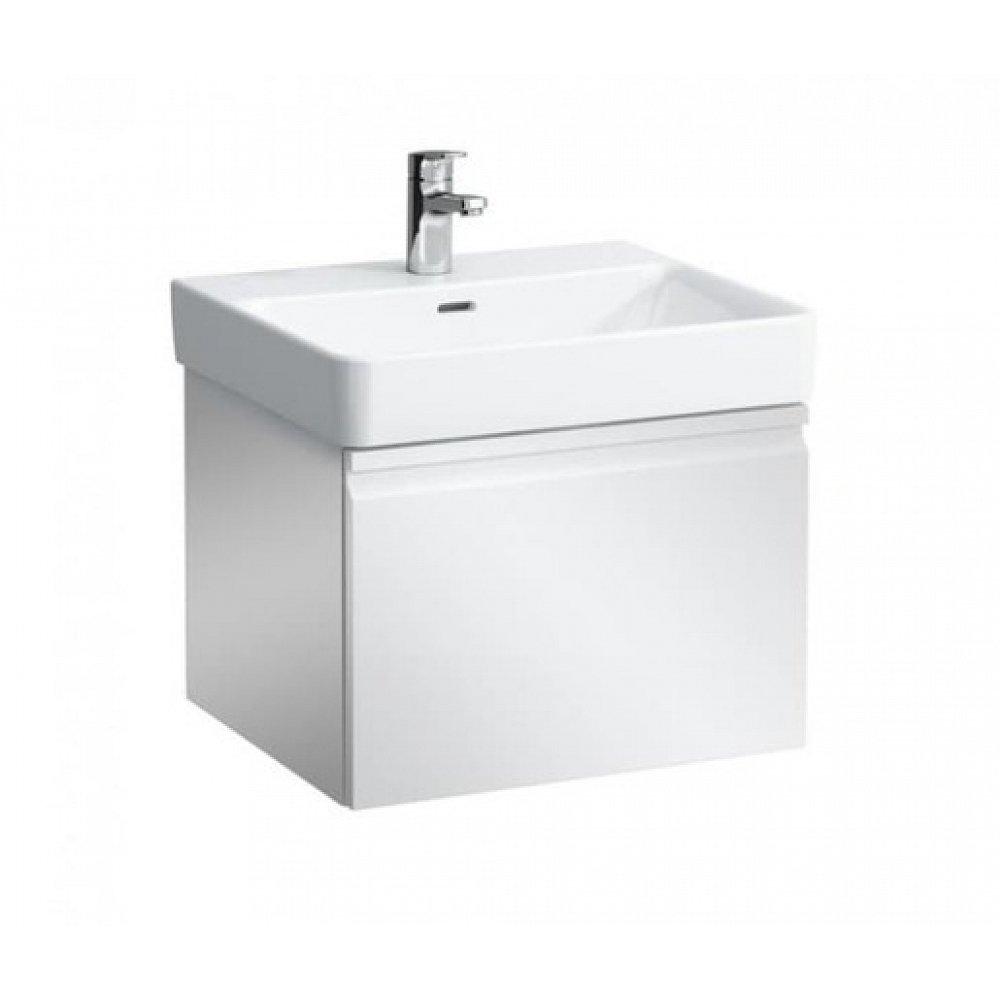Koupelnová skříňka pod umyvadlo Laufen Pro 55x39,2x37 cm bílá lesk H4830320954751