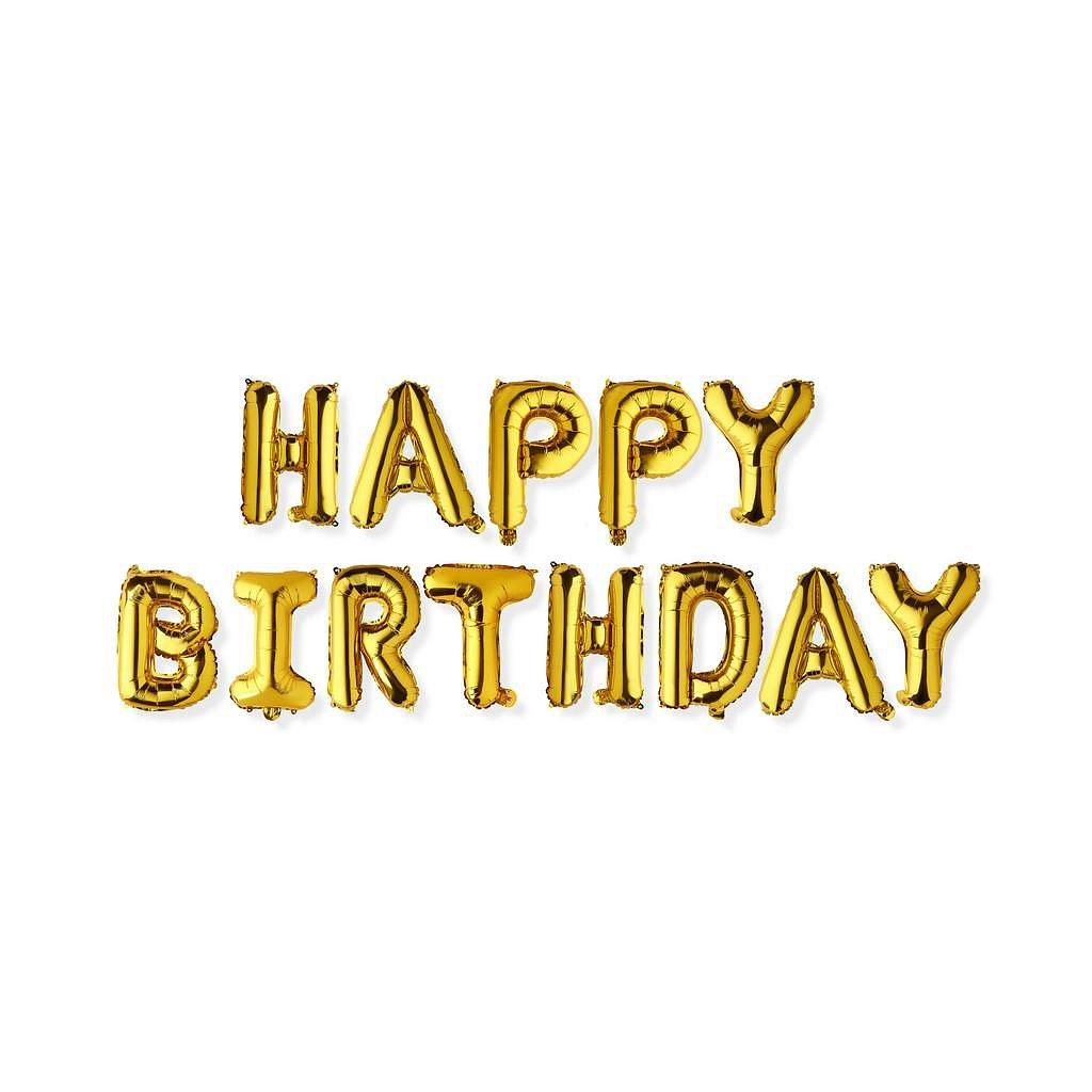 Balónek Nafukovací Happy Birthday