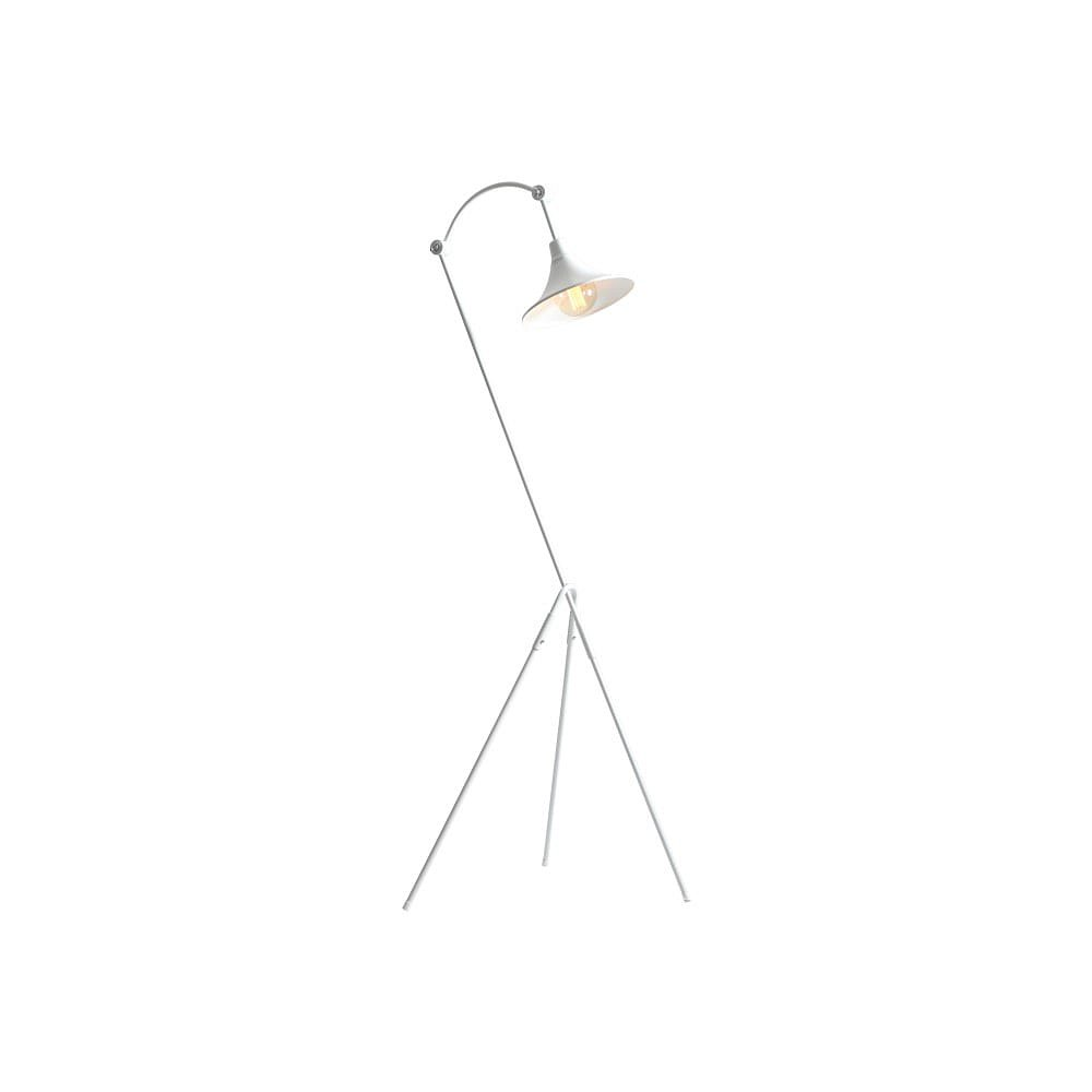 Bílá stojací lampa Custom Form Miller