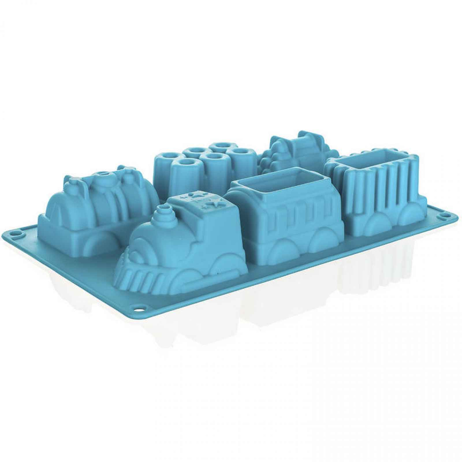 BANQUET Silikonová forma vlaky 29,5x17,3x4,3cm, váha 165g Culinaria