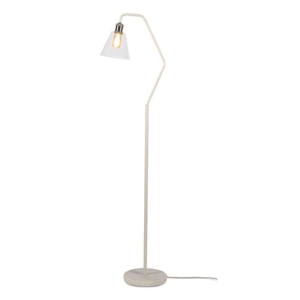 Bílá stojací lampa Citylights Paris, výška 150cm