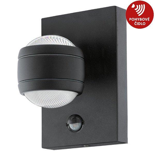 Svítidlo LED Eglo Sesimba, 3000K, 2×3,7W, černá