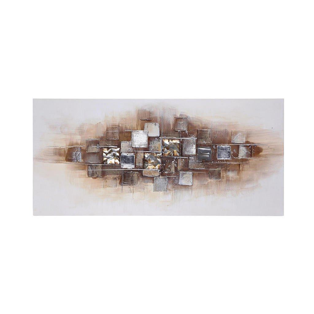 Monee Olejomalba, Abstraktní, 70/150 Cm - Olejomalby - 0087180097
