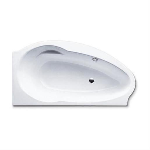 Asymetrická vana Kaldewei Studio 170x90 cm smaltovaná ocel pravá alpská bílá 222800010001