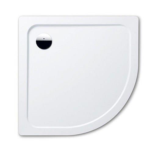 Sprchová vanička čtvrtkruhová Kaldewei Arrondo 873-2 100x100 cm smaltovaná ocel alpská bílá 460348043001