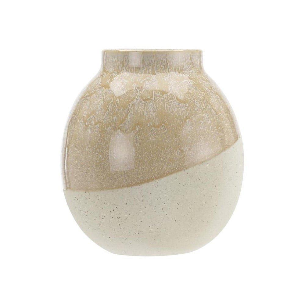 Béžová kameninová váza A Simple Mess Skraa Whisper Pink, ⌀18cm
