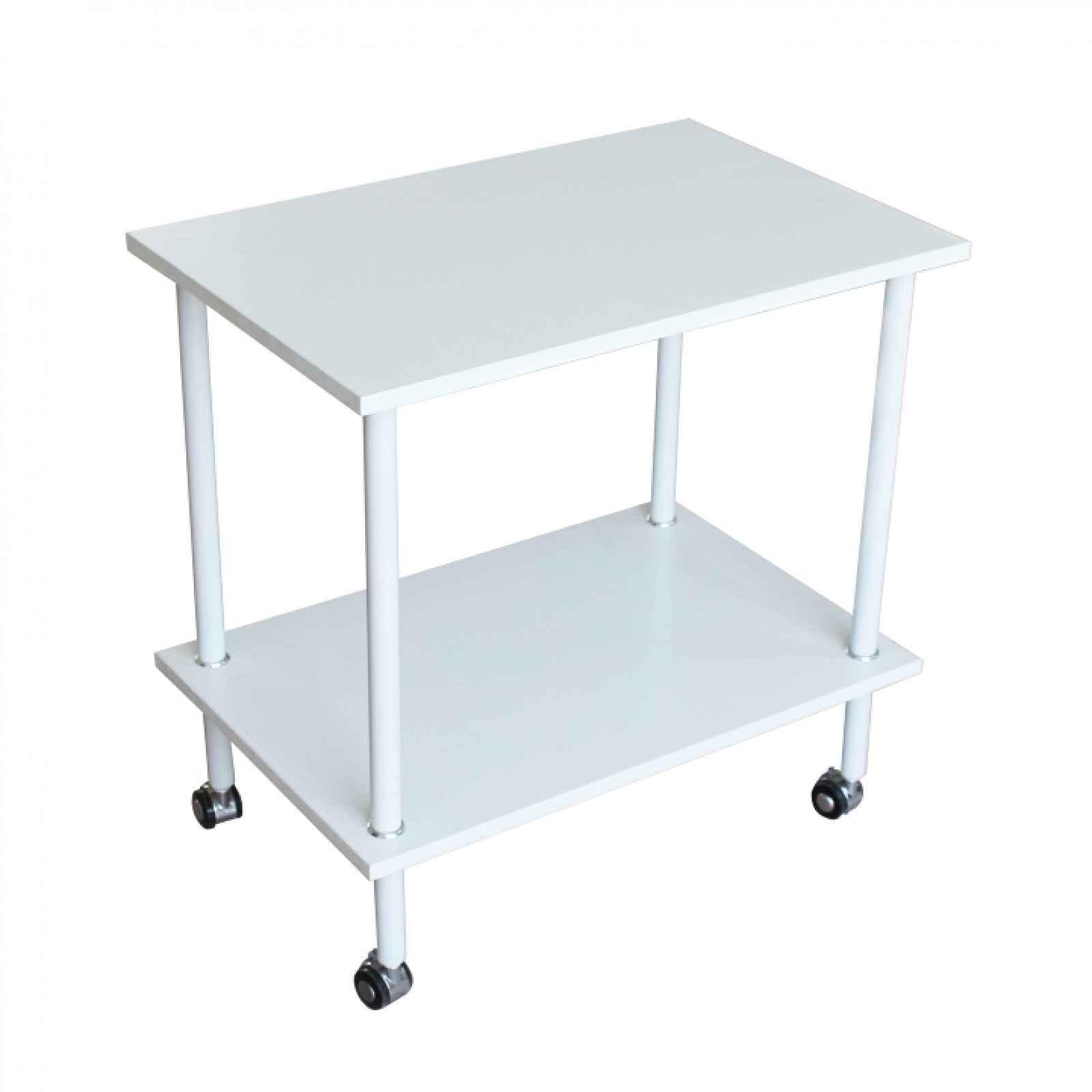 Příruční stolek, matná bílá, LABON 0000235085 Tempo Kondela