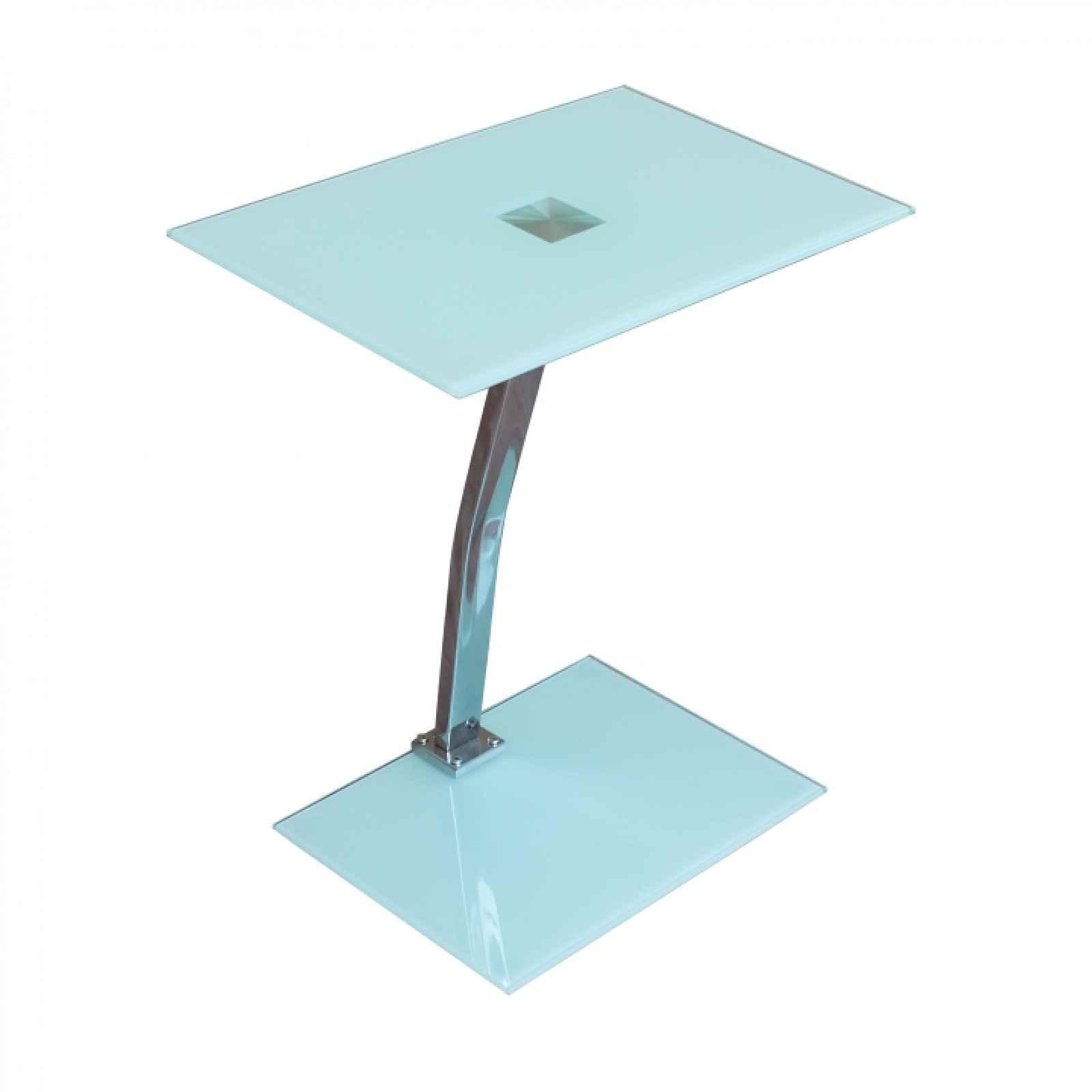 Příruční stolek, bílá, PELOK 0000235086 Tempo Kondela