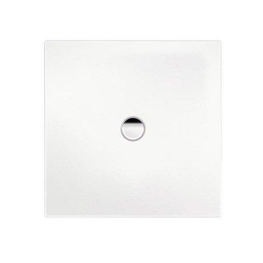 Sprchová vanička čtvercová Kaldewei Scona 911 80x80 cm smaltovaná ocel alpská bílá 491130020001