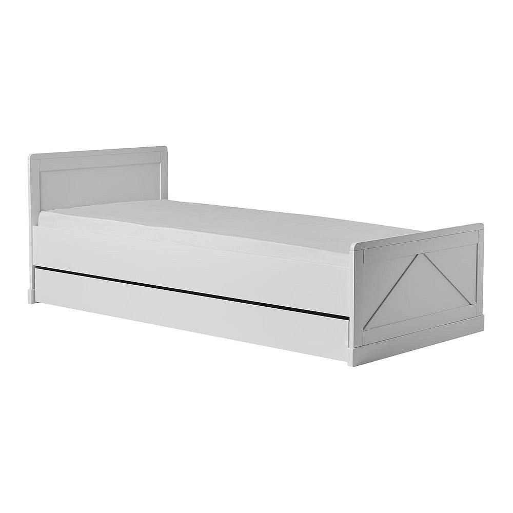 Bílá dětská postel Pinio Marie, 200 x 90 cm