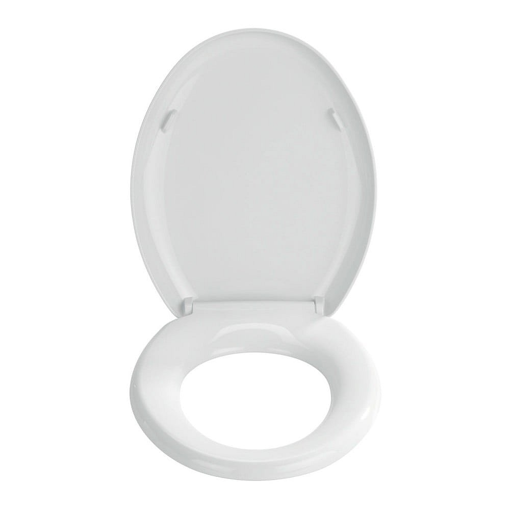 Bílé toaletní prkénko Wenko Premium Mira
