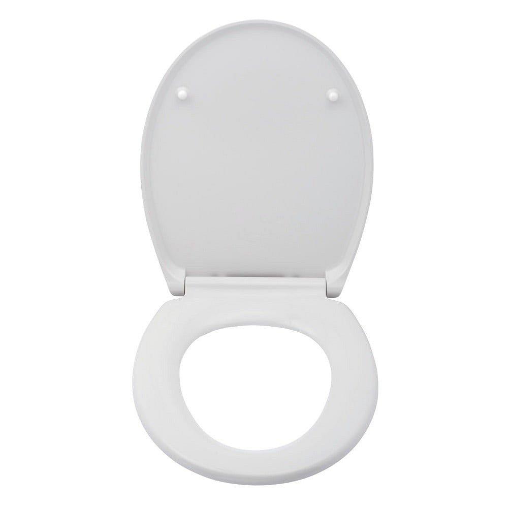 Bílé toaletní prkénko Wenko Premium Cento