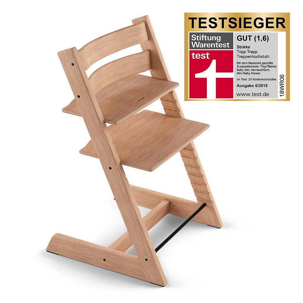 Stokke Vysoká Židle, Dub, Barvy Dubu - 004792001513