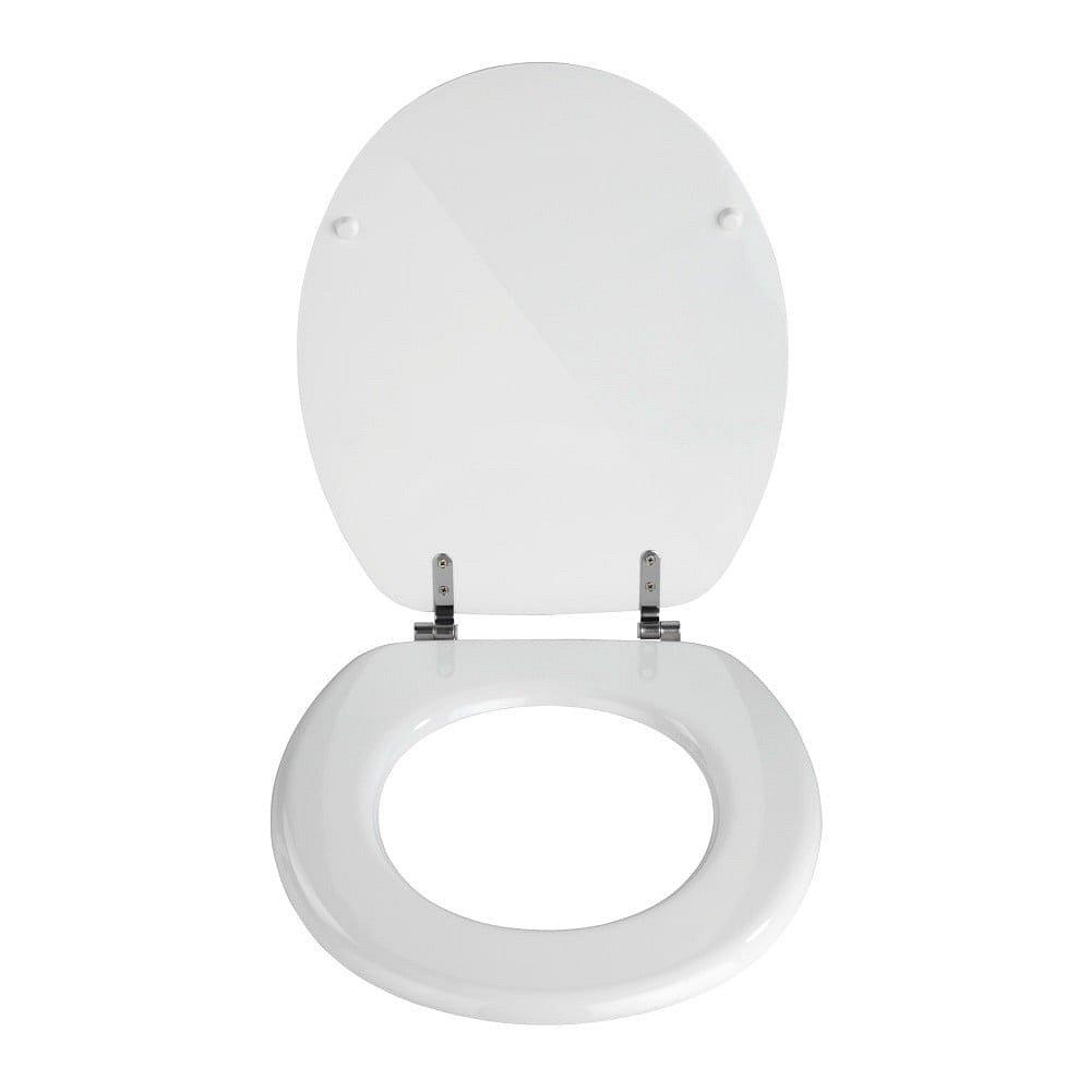 Bílé toaletní prkénko Wenko Valencia