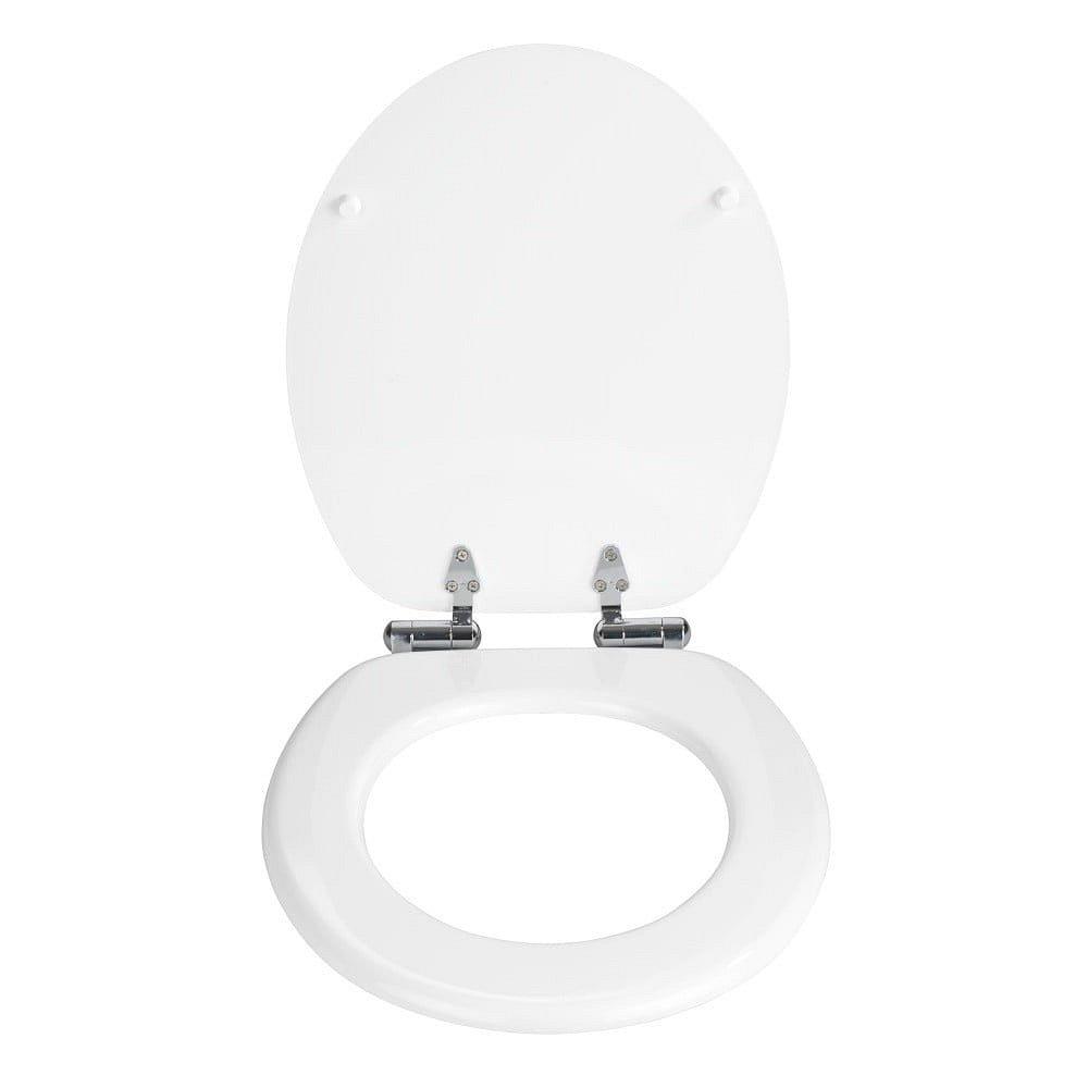 Bílé toaletní prkénko Wenko Urbino