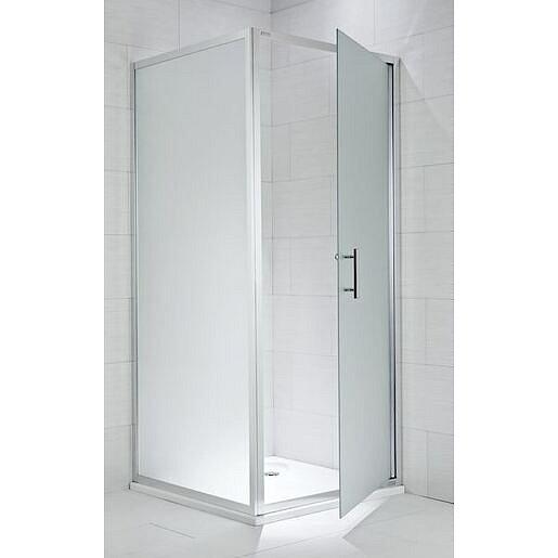Boční zástěna ke sprchovým dveřím Jika Cubito Pure 100x195 cm chrom lesklý H2972430026681