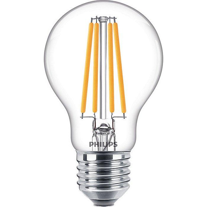 Žárovka LED Philips Filament Classic E27 10,5W 4000K