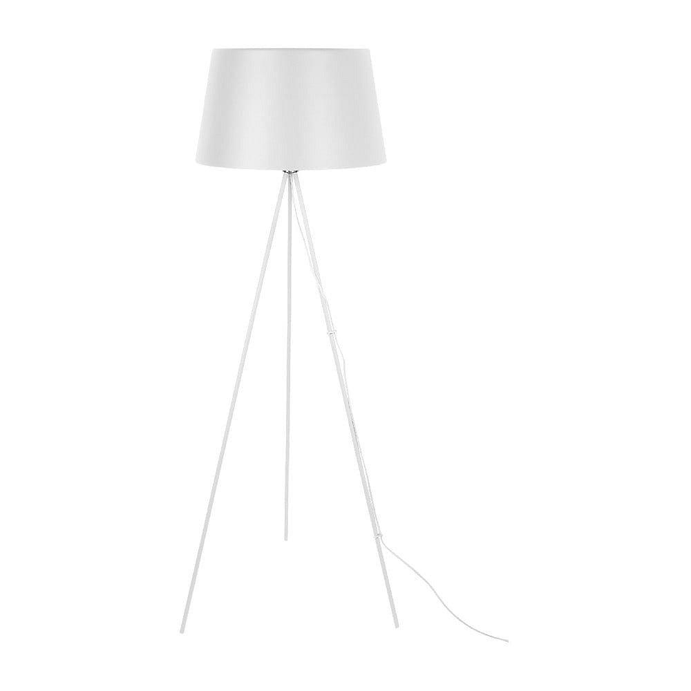 Bílá stojací lampa Leitmotiv Classy